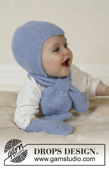 Baby Aviator Hat Drops Baby 14 16 Free Knitting Patterns By