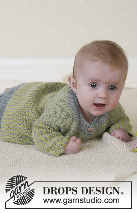 ebe0ea52f5a241 Little Fern   DROPS Baby 14-27 - Free knitting patterns by DROPS Design