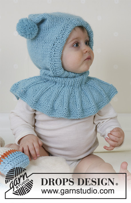 Funny Jester / DROPS Baby 14-28 - Hat and soft toys in Alpaca