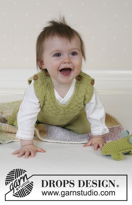 green leaf drops baby 14 3 kostenlose strickanleitungen von drops design. Black Bedroom Furniture Sets. Home Design Ideas