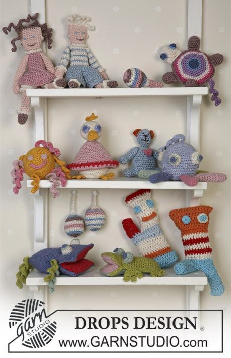 bbf7fa65dfcd6f Toy Story   DROPS Baby 14-30 - DROPS Leuke knuffels en poppen gehaakt van