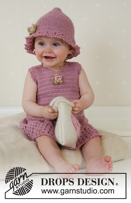 e4b926f54c4 Little Miss Berry   DROPS Baby 14-4 - Free crochet patterns by DROPS Design