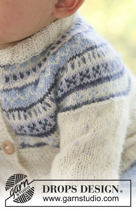 9a6cb7123e35ee Himmelblå   DROPS Baby 16-10 - Free knitting patterns by DROPS Design
