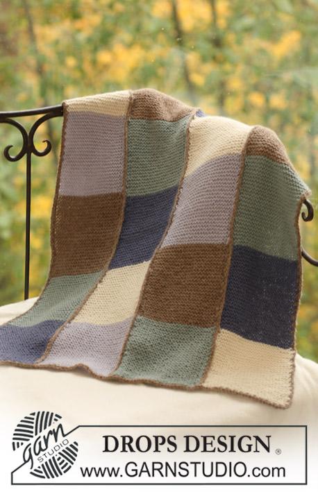 Winter squares drops baby 16 17 modelli di maglia for Piani di coperta coperti gratuiti