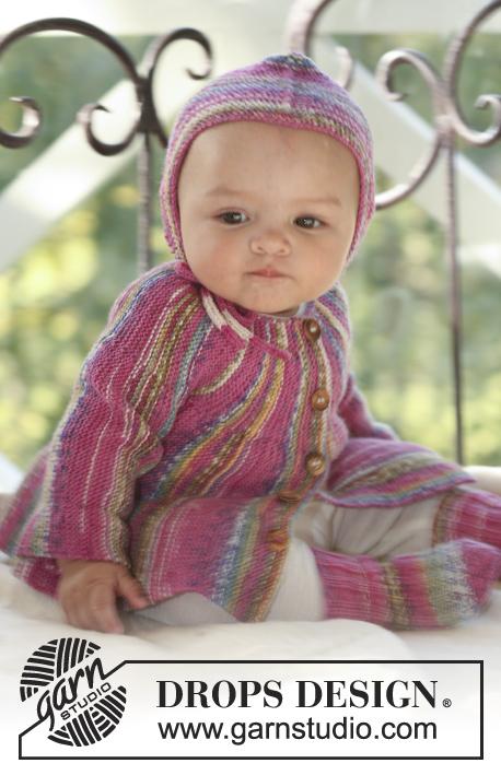 2960dee0 Little Jamboree / DROPS Baby 16-3 - Free knitting patterns by DROPS Design
