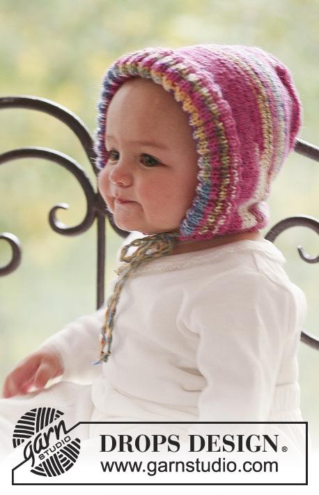 迷人的针织婴儿帽 - maomao - 我随心动