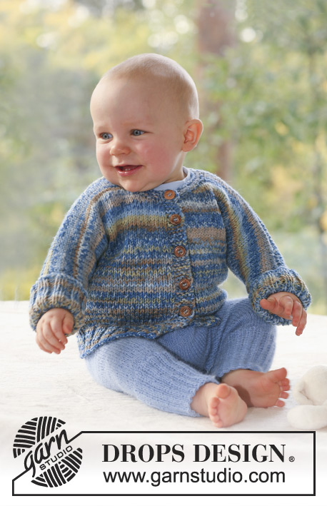 eabb09d01 Wind and Waves   DROPS Baby 18-17 - Free knitting patterns by DROPS ...