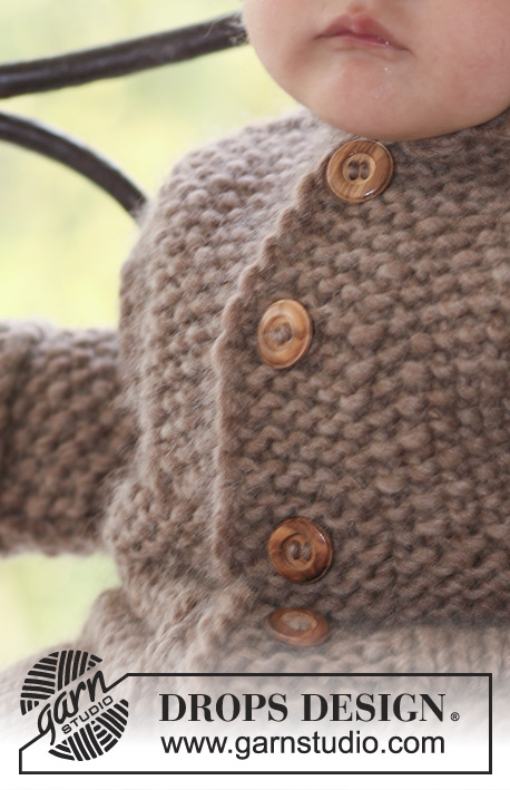 Hazelnut / DROPS Baby 18-2 - Free knitting patterns by DROPS Design