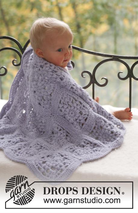 Sweet Lavender / DROPS Baby 18-20 - Kostenlose Häkelanleitungen von ...
