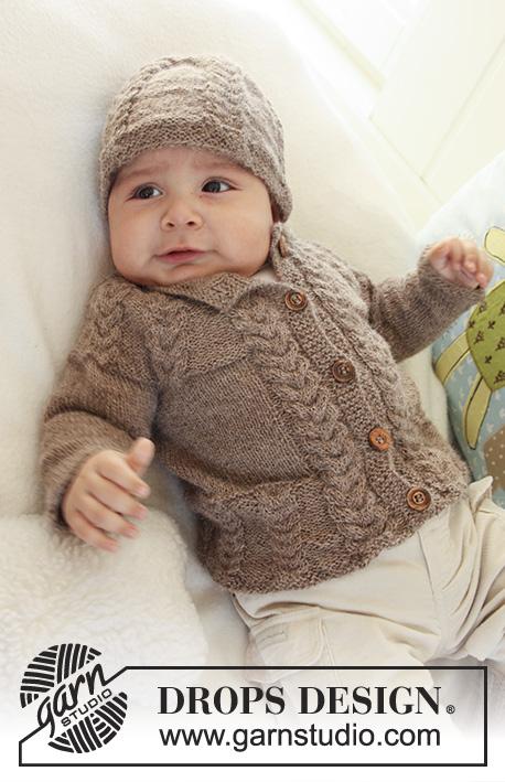 Little Chesnut / DROPS Baby 19-17 - Patrones de punto gratuitos por ...
