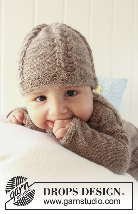 Patrones de gratuitos 19 17 DROPS Chestnut Baby punto por Little vZWxn8Y