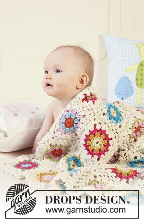 Granny\'s Little Girl / DROPS Baby 19-22 - Kostenlose ...
