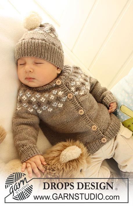 Вязание новорожденным мальчикам шапочки 50