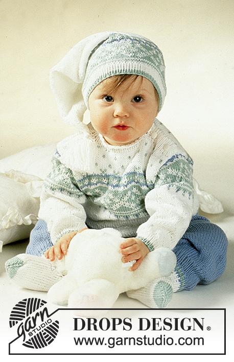 Детские костюмы до года вязание