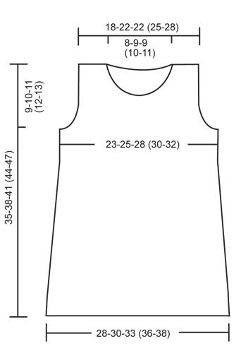Сукня для дівчинки - викрійка