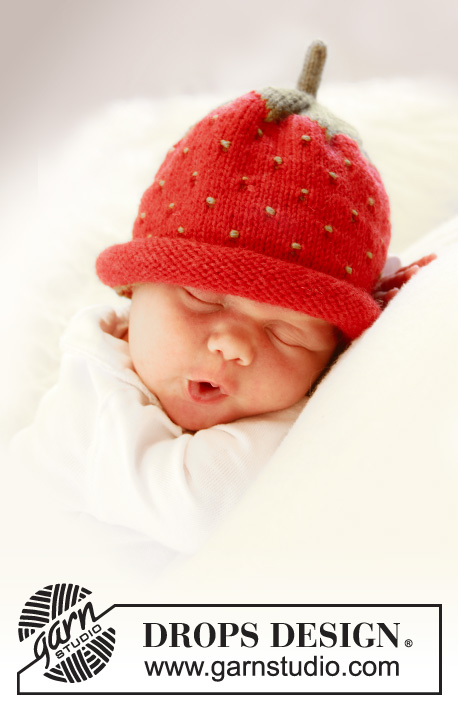 Sweet Strawberry / DROPS Baby 21-21 - Kostenlose Strickanleitungen ...