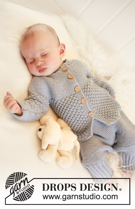 Blueberry Drops Baby 21 24 Free Knitting Patterns By Drops Design