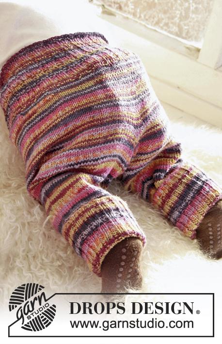Stripy Stripes / DROPS Baby 21-28 - Kostenlose Strickanleitungen von ...