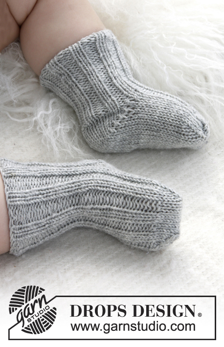 Baby Booties Drops Baby 21 35 Free Knitting Patterns By Drops Design