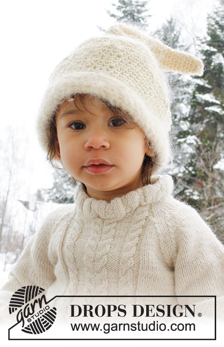 95bd152eb Micah / DROPS Baby 21-41 - Free knitting patterns by DROPS Design