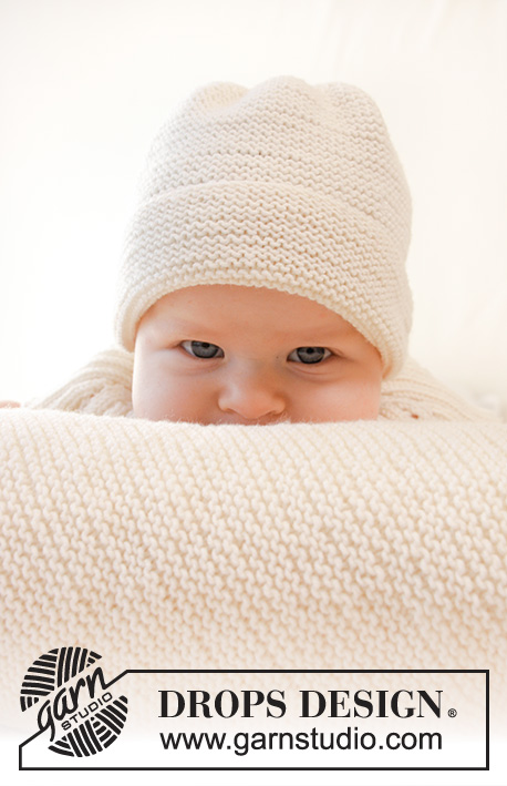 Peek-a-boo / DROPS Baby 25-10 - Free knitting patterns by DROPS Design