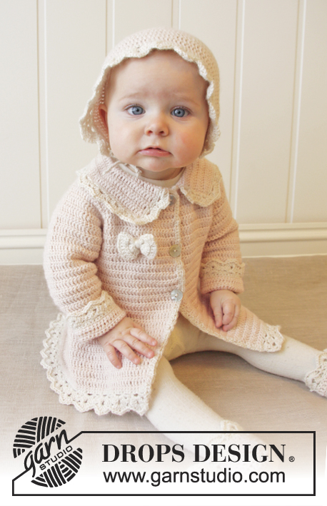 Little Lady Rose / DROPS Baby 25-12 - Kostenlose Häkelanleitungen ...