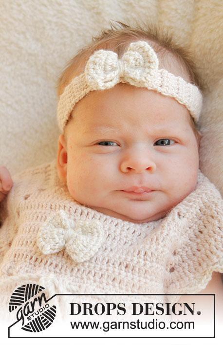 Baby Butterfly / DROPS Baby 25-13 - Kostenlose Häkelanleitungen von ...