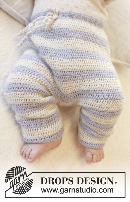 Heartthrob Pants Drops Baby 25 24 Free Crochet Patterns By Drops