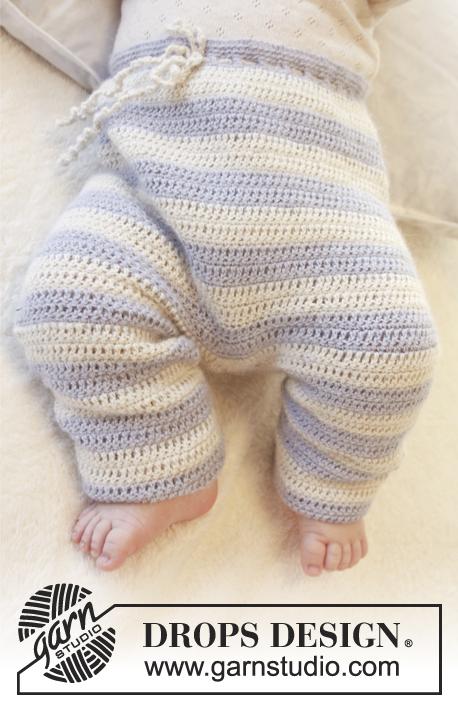 Top Heartthrob Pants / DROPS Baby 25-24 - Gratis haakpatronen van  XM93