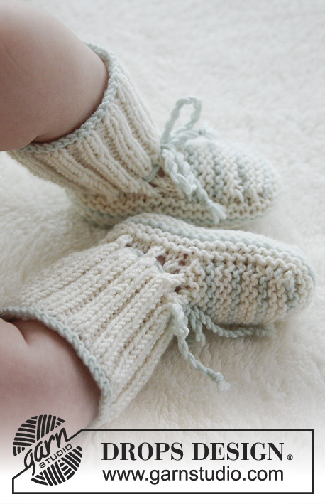 First Impression Booties Drops Baby 25 25 Free Knitting Patterns