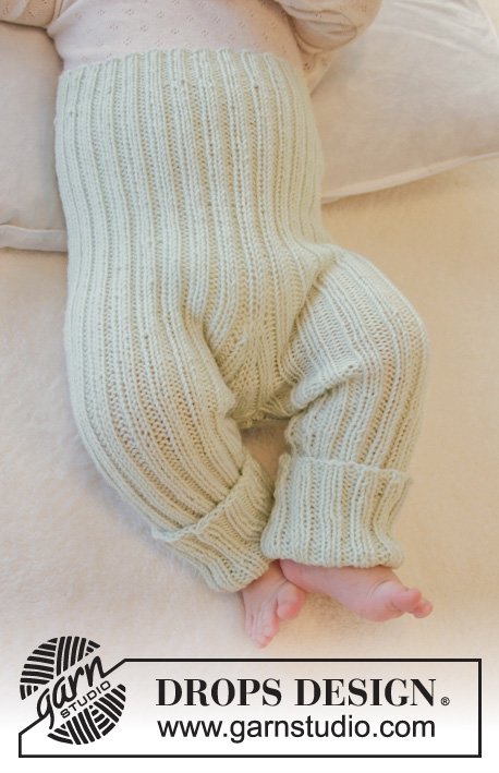 ef9256703 First Impression Pants   DROPS Baby 25-27 - Free knitting patterns by DROPS  Design
