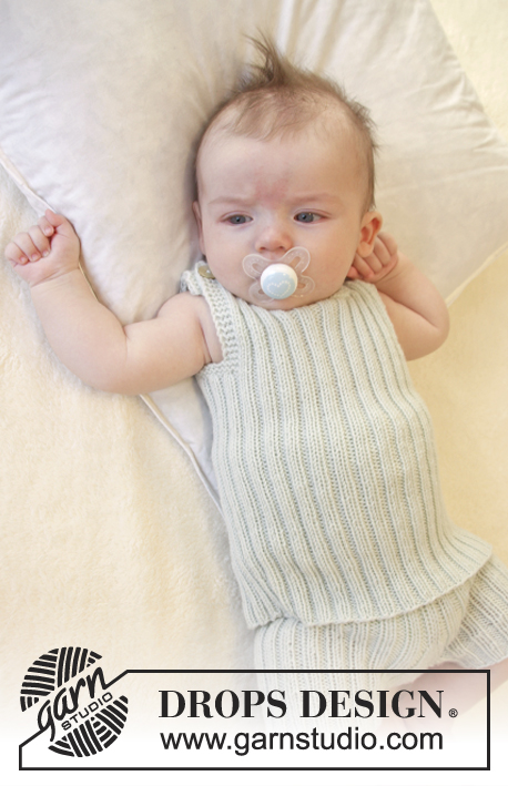 Babyundertrøje Opskrift first impression singlet / drops baby 25-29 - gratis