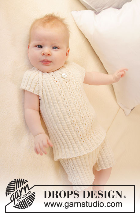 Simply Sweet Singlet Drops Baby 25 31 Free Knitting Patterns By