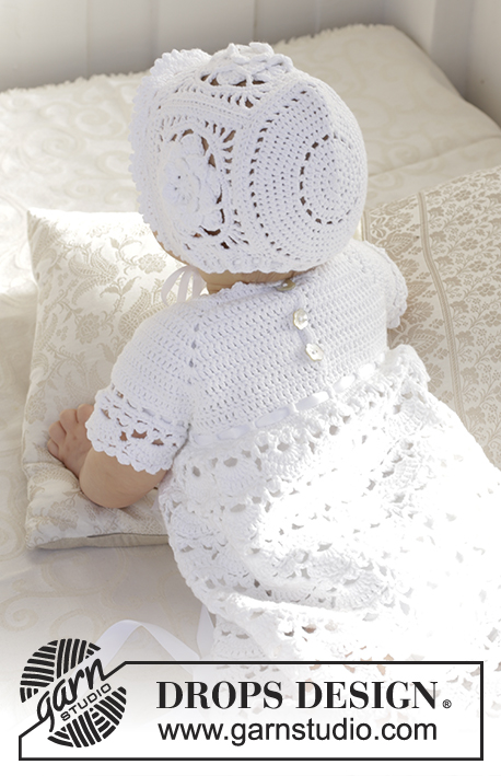 So Charming Drops Baby 29 3 Free Crochet Patterns By Drops Design