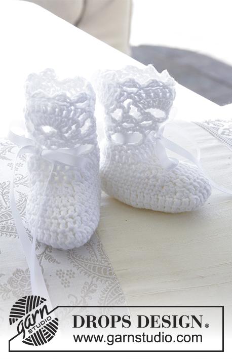 So Charming Socks Drops Baby 29 4 Free Crochet Patterns By Drops