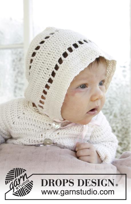 My Sweetie hat / DROPS Baby 29-6 - Kostenlose Häkelanleitungen von ...