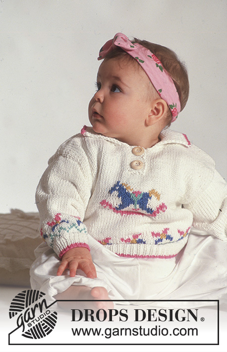 eb800cced12d Giddy Up   DROPS Baby 3-18 - Free knitting patterns by DROPS Design