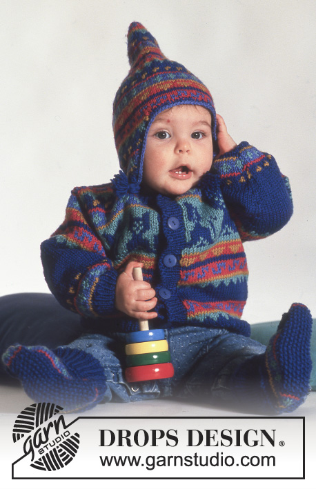 f6bf30a9 Here Kitty / DROPS Baby 3-7 - Free knitting patterns by DROPS Design