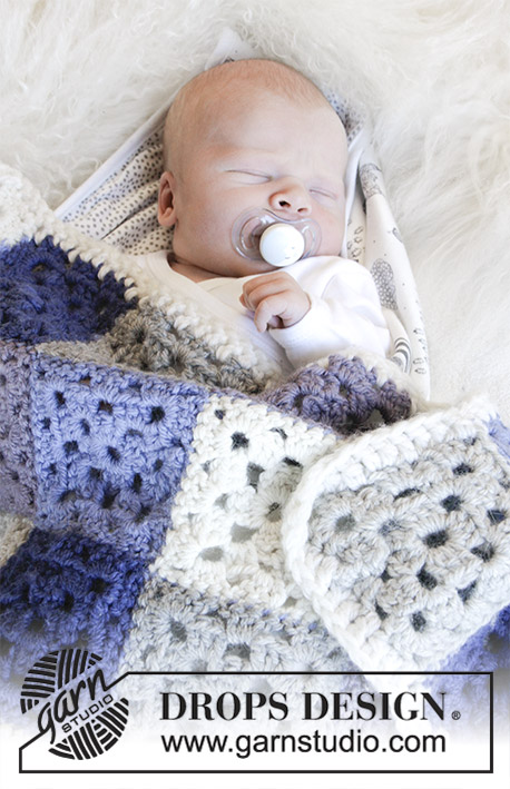 Baby Squares / DROPS Baby 31-20 - Patrones de ganchillo gratuitos ...