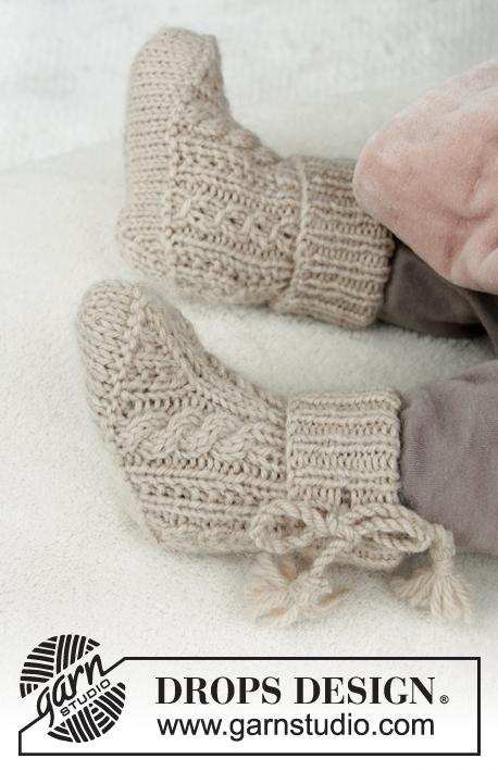 Aiden Socks / DROPS Baby 31-24 - Patrones de punto gratuitos por ...