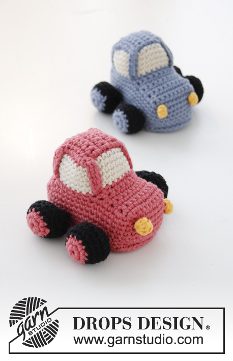 My First Car Drops Baby 31 26 Free Crochet Patterns By Drops Design