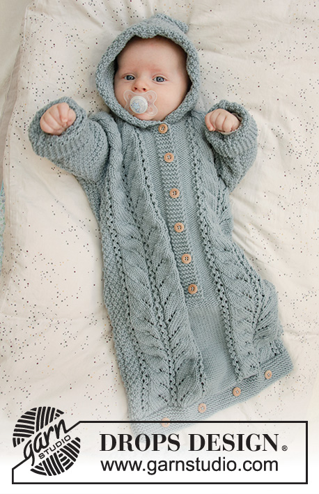 Cable Snooze / DROPS Baby 33-7 - Free knitting patterns by ...