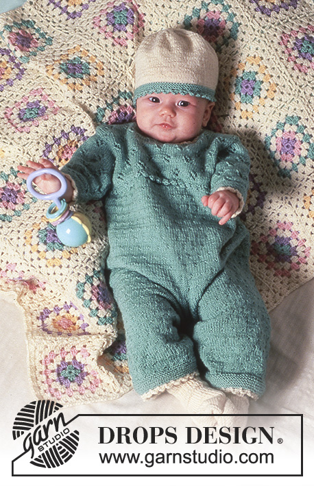 ab1b428ea6b7 Hint of Mint   DROPS Baby 4-17 - Free knitting patterns by DROPS Design