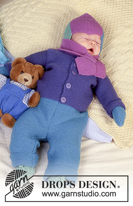 Colourful Dreams Drops Baby 4 18 Free Knitting Patterns By Drops