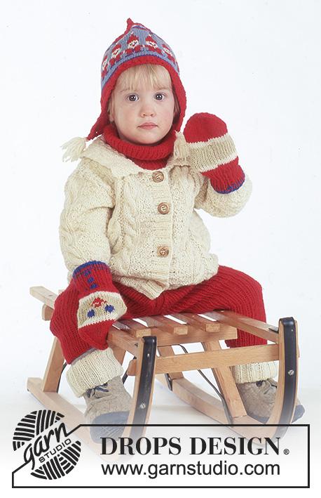 Santas Slide Drops Baby 4 20 Kostenlose Strickanleitungen Von