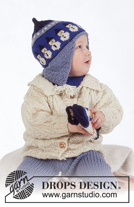Riding Snowman Drops Baby 4 23 Free Knitting Patterns By Drops