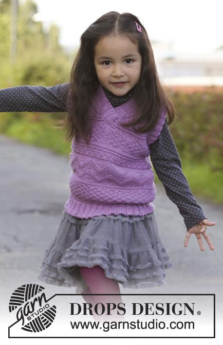 Gretchen / DROPS Children 22-41 - Patrones de punto gratuitos por ...