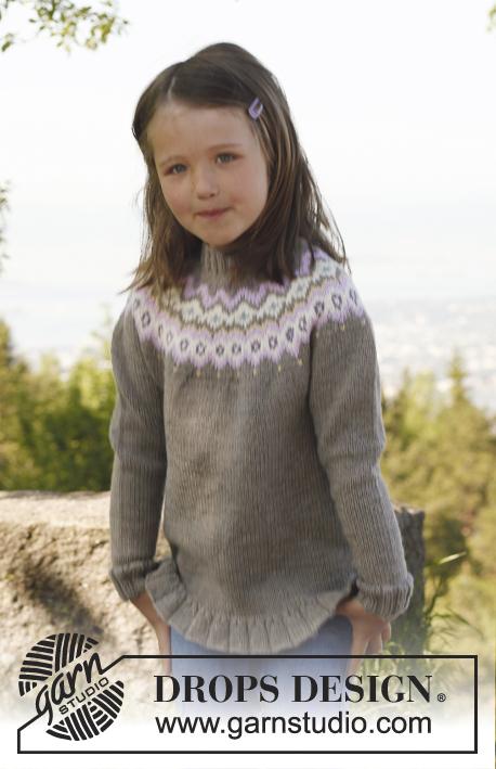 strik sweater opskrift