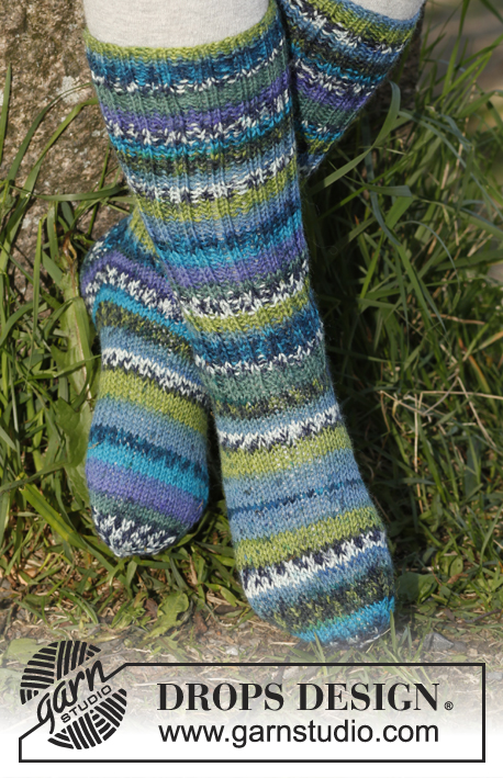 Blueberry fields / DROPS Children 23-30 - Free knitting patterns by DROPS Design