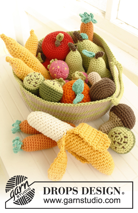 Tutti frutti / DROPS Children 23-56 - Free crochet ...